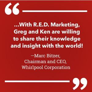 Yum Brands!, Whirlpool, Marc Bitzer, R.E.D. Marketing, KFC, Pizza Hut