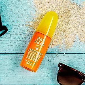 tigi letto testa letto spiaggia freak idratante districante spray nodoso estate capelli spiaggia sole mare