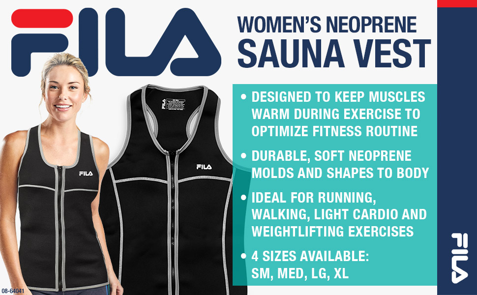 FILA Accessories Women's Neoprene Sauna Vest
