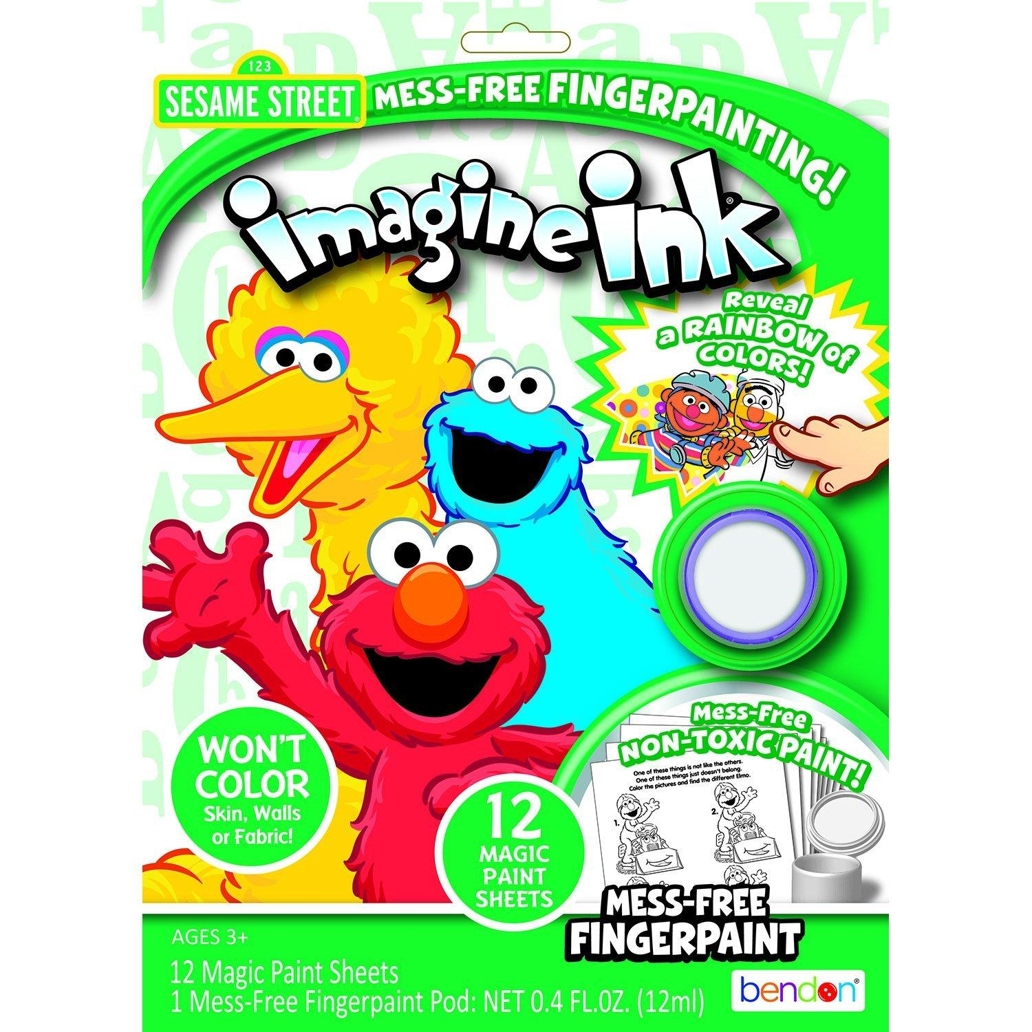 Amazon.com: Bendon Inside Out Magic Ink Activity Book: Toys & Games