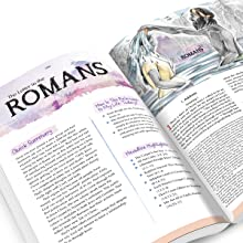 book of Romans, bible, color bible