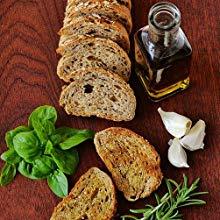 Kitchencraft Artesà Árbol tronco tabla de quesos/bandeja con borde de corteza de madera natural, 25 cm (10