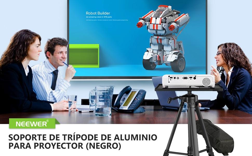 Neewer Soporte de Proyector de Aluminio Soporte Portátil Ajustable ...