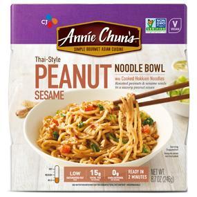 Peanut Sesame Noodle Bowl