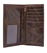 Fossil men's leather wallet
