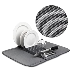 microfiber dish drying rack
