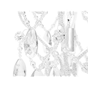 Amazon.com: Tadpoles Table Lamp Chandelier in White Diamond: Baby