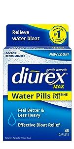 diurex max water pills bloat relief