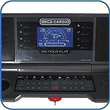 80i Fold Flat Treadmill Console