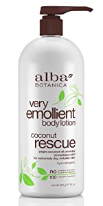 Very Emollient Coconut Rescue Body Lotion