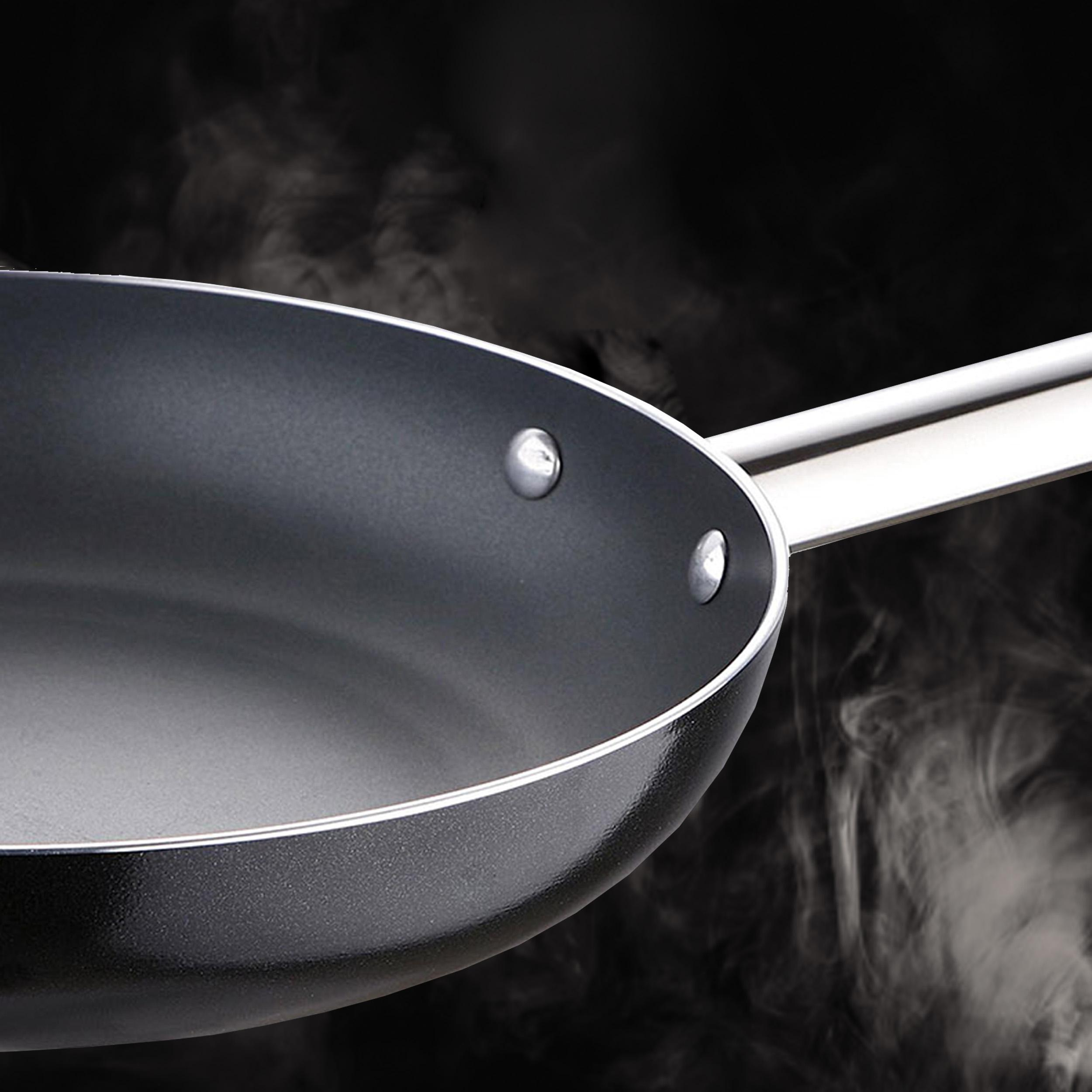 Bergner Masterpro Prochef Sartén, Aluminio, Negro, 26 cm