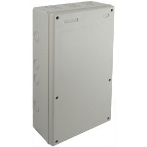 SOLERA 820P - Caja estanca de conexión sin conos, 263x493x129, tornillos, IP65