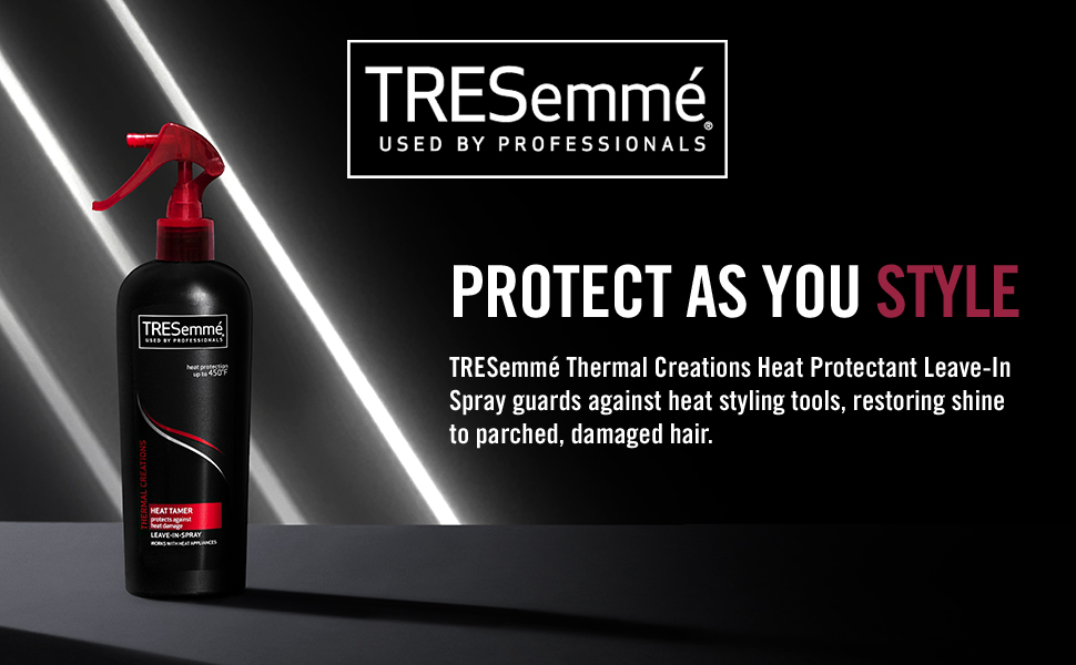 tresemme, thermal creations, leave-in