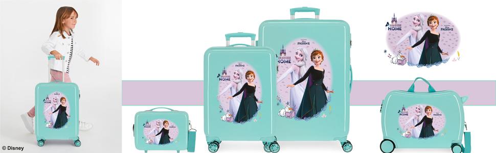 equipaje disney frozen