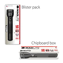 Maglite; Packaging; Blister; Pack; Box