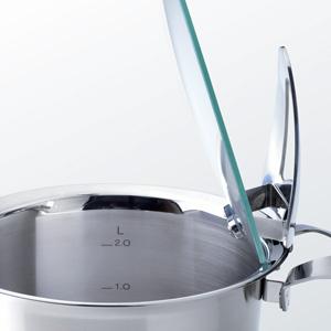 Fissler solea / Juego de ollas de alta, compuesto por 4 piezas, con funciones prácticas y tapaderas de vidrio, apta para cocinas de inducción, gas, vitrocerámica y eléctricas: Amazon.es: Hogar