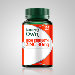 Nature's Own High strength zinc; Nature's own; Nature's Own Omega-3 capsules;