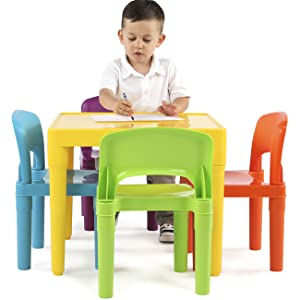 30x30cm B/_Clay Red Serenable Kids Childrens Chair Plastic Toddlers
