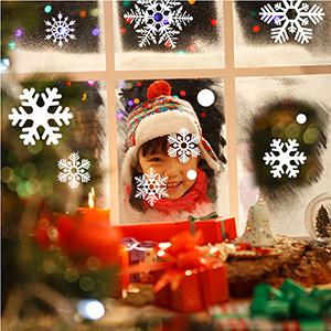 Christmas Snowflake Window Stickers