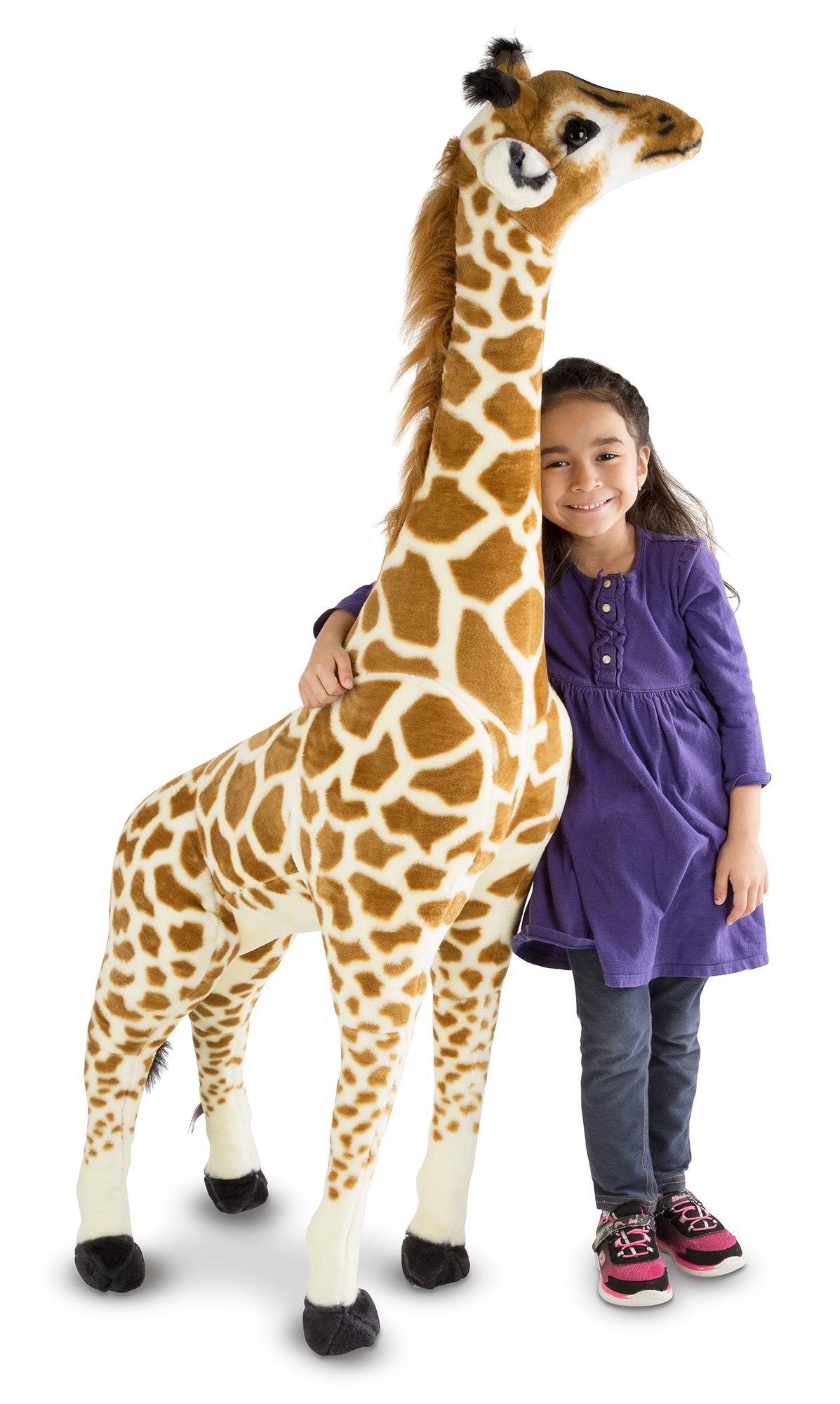 Melissa Amp Doug Giant Giraffe Lifelike Stuffed Animal