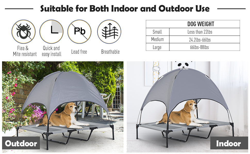 Elevated Pet Bed Dog Cot