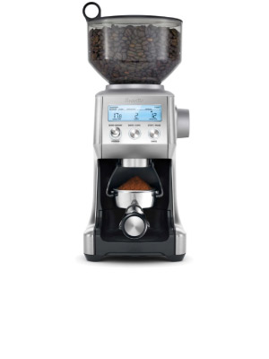 the smart grinder pro, breville, coffee grinder, espresso, home, kitchen