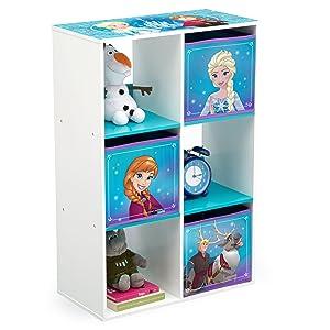 Delta Children 6 Cubby Storage Unit