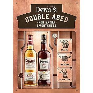 Dewars double Aged