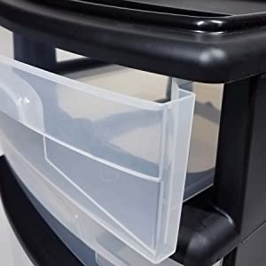 small large multi drawer clear stationary craft pens paper office lingerie storage closet
