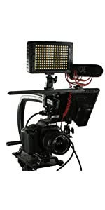 Cam Caddie Scorpion DSLR Stabilizer handle tripod mount C U shaped bracket camera mirrorless cage