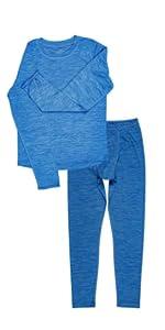 boys thermals pajamas set dream dreamwear sleep sleepwear fun design warm