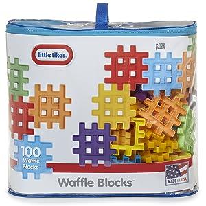 little tikes, waffle blocks, 100 waffle blocks,building blocks, construction for children, activity