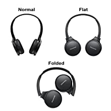 light-weight, foldable headphones