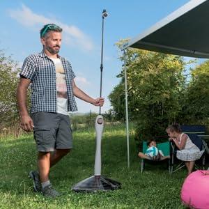 GF Garden Sunny Style Solar, jardín, Ducha para Exterior, Camping ...
