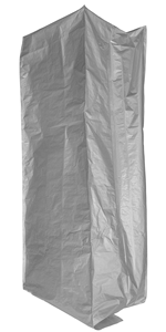 Absorbent Industries AI-10069-1PK Seal Bag, onesize, Silver