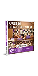 PAUSE DE BIEN-ÊTRE EN DUO coffret box cadeau Smartbox