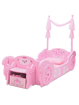 Delta Children Disney Princess Carriage Toddler To Twin Bed Baby