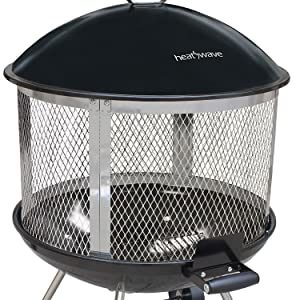 Amazon Com Landmann Usa 28051 Heatwave Fire Pit Garden Outdoor