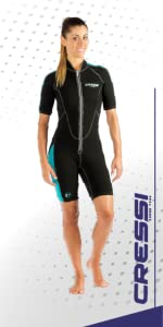 neoprene snorkeling wetsuit woman