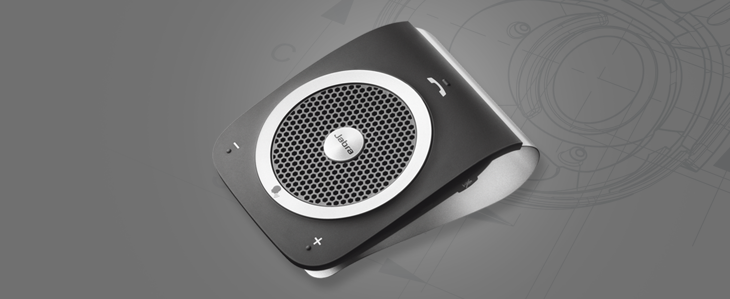 The portable in-car speakerphone with a powerful 3-watt speaker for incredibly lifelike sound.