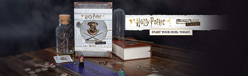 Usaopoly Usodb010512 Harry Potter Hogwarts Battle Defence Against The Dark Arts Mixed Colours Amazon Co Uk Toys Games