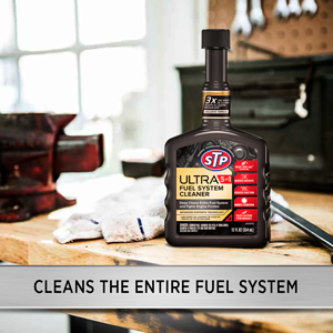 STP ULTRA 5-in-1 Fuel System Cleaner, Saves Gas, Reduces Friction,and corrosion, Boosts Performance