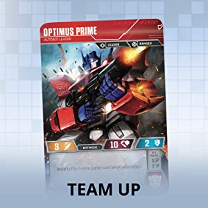 optimus prime, team up, roll out