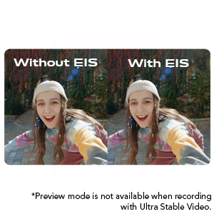 Ultra Stable Video Supported By EIS