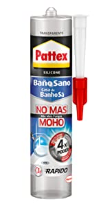Pattex 1994664 Baño Sano No Más Moho, Blanco, 280 ml: Amazon.es ...