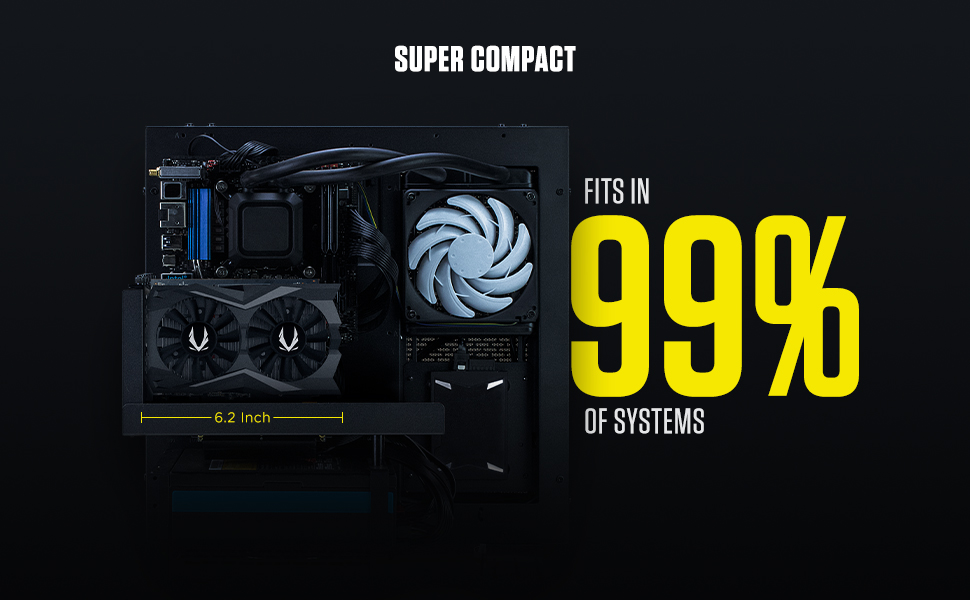 ZOTAC GAMING GeForce GTX 1650 SUPER TWIN FAN ZT-T16510F-10L Graphics Card GET FAST GAMING STRONG