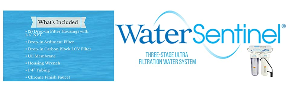 Three-Stage Ultra Filtration Water System
