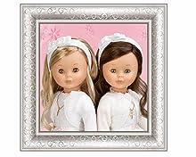 comunión, church, iglesia, regalo, gift, vintage, doll, muñeca, colección, Nancy