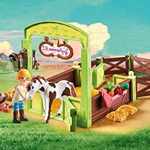 Abigail and Boomerang's Horse Stall Playset