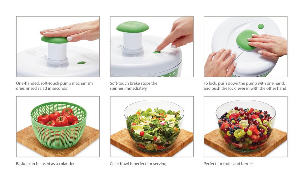 Farberware salad spinner